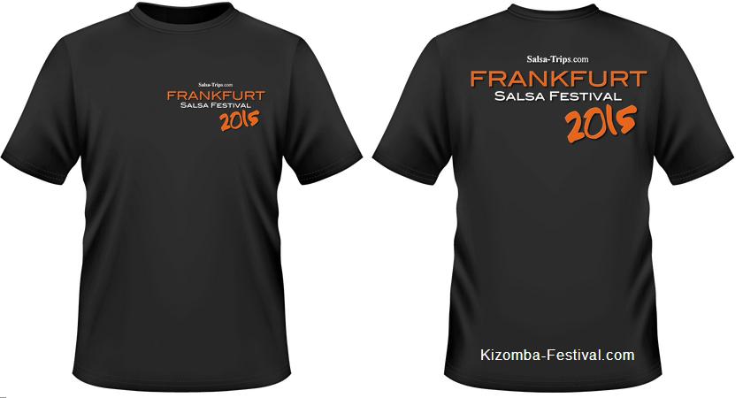 Frankfurt Salsa Festival T-Shirt 2015 black